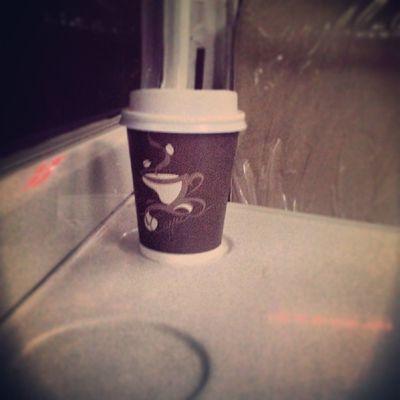 Ngopi sik bek ra ngelak :p Hot Coffee Cup