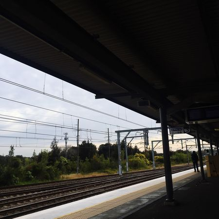 Wolli Creek Train Station Subway Train Sunrise Sydney IPhoneography Public Transportation Waiting For A Train Train Tracks