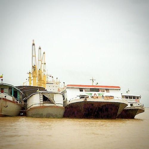 PatheinThu HighspeedCraft InlandWaterways IrrawaddyDelta Catamaran PassengerVessel YangonPort
