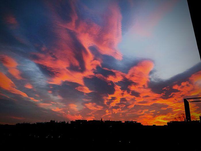 Fire Sky Cloud