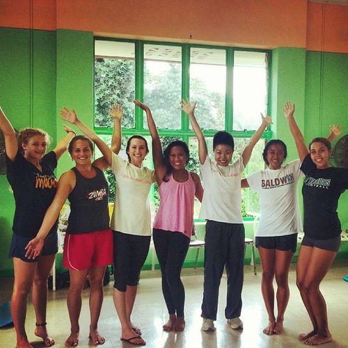 I taught a Dahnyoga class at UHManoa today Bestdayever BeOneHundredPercentAlive