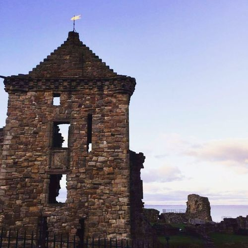 Ruined Building Architecture Travel History Built Structure Tranquility Beauty Fife  Beauty In Nature Fife Scotland Tranquility Scene Home Scotland Standrews Building Exterior Architecture Homeforever Scotland Is Incredible EyeEm Nature Lover
