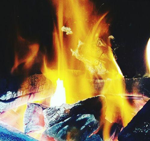 Heat - Temperature Burning Flame Nature Outdoors Churrasco Churras Churrasco😊😊✌