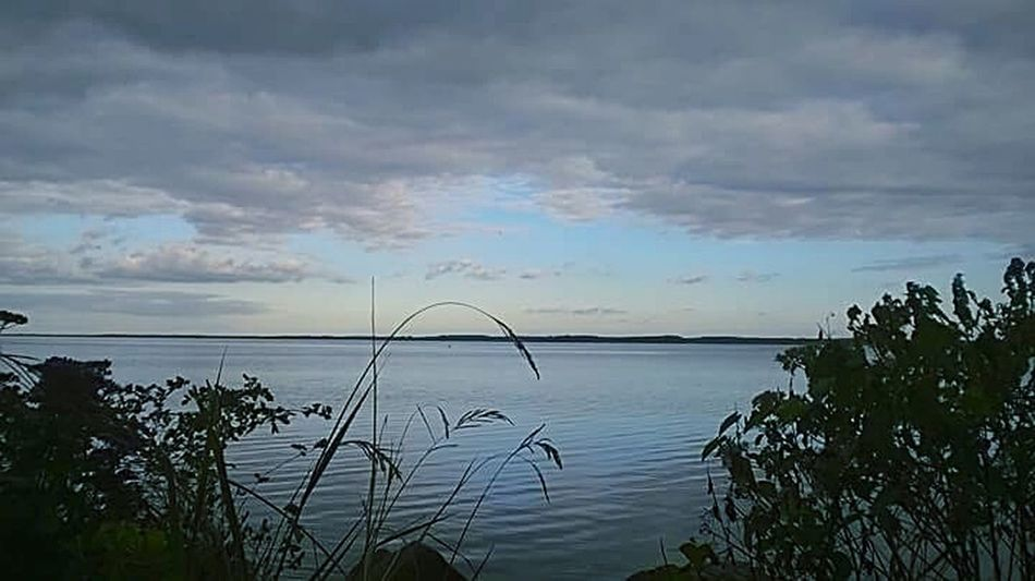 Summer Breeze View. Landscape Reflection Nature Cloud - Sky Water Horizon Over Water Sea Beauty In Nature Outdoors Sky Tranquility No People Travel Destinations TCPM Breathing Space