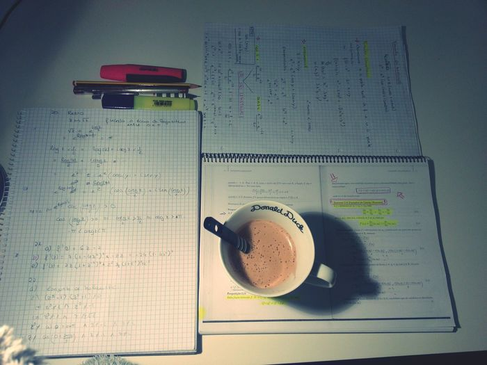 Desks From Above Coffee Coffee Break Study Coffee Studying Study Time Study Hard Check This Out Studying Hard Studyweek Calculus Complex Analysis
