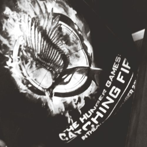 Hunger Games Work Shirt Catching Fire