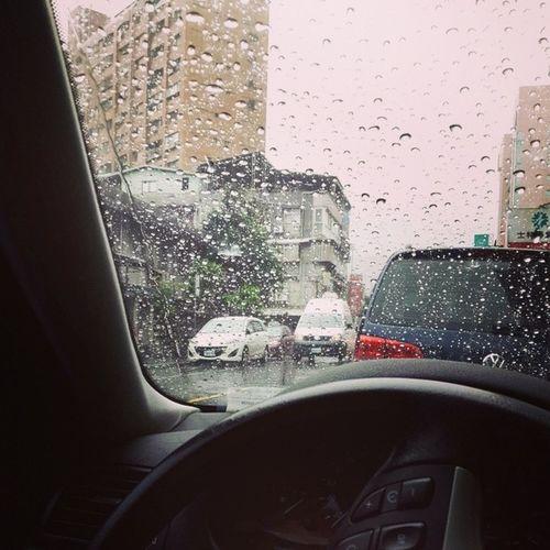 Rainraingoaway  Afterworkout Raining Dailylife endofmay hellojune newstart
