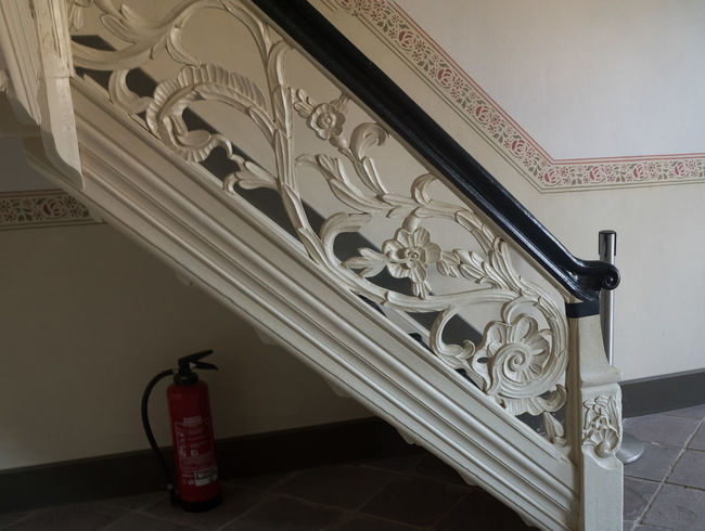 LWL Museum 19th Century Buildings Fire Extinguisher Historical Building Panorama Stairs Decorations Museum Open Air Museum