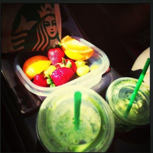 Breakfast This Morning Soccer Morning⚽ Starbucks☕