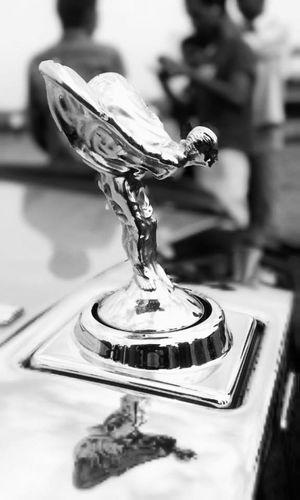 Precision Theflyinglady Rolls Royce Black & White