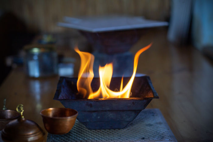 Agni Hotra Rituals Light Hope SaveMotherEarth Surya Fireceremony Healing Agnihotra Flame Heat - Temperature Burning Home Interior Close-up Fire Pit