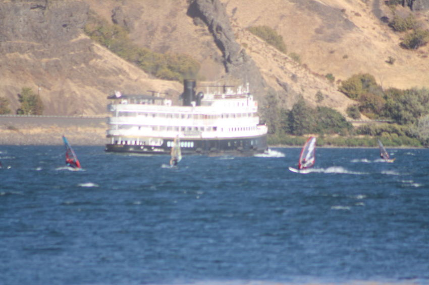 Beauty In Nature Columbia River Columbia River Gorge Journey Mode Of Transport Nature Nautical Vessel Oregon Sail Sail Boards Sailing Scenics Sol Sternwheeler Transportation Water