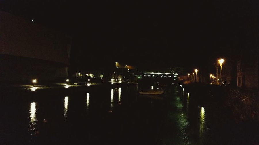 Harbour Night Home Sweet Home Canal Hometown