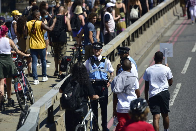 Blm peaceful protest london may 2020