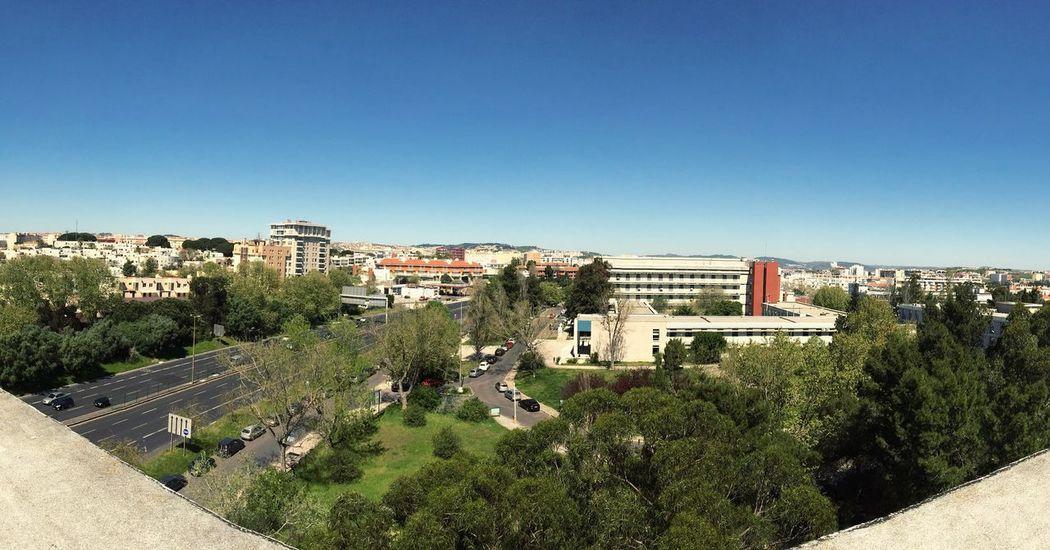 Clear Sky Rooftop Portugal Telheiras First Eyeem Photo