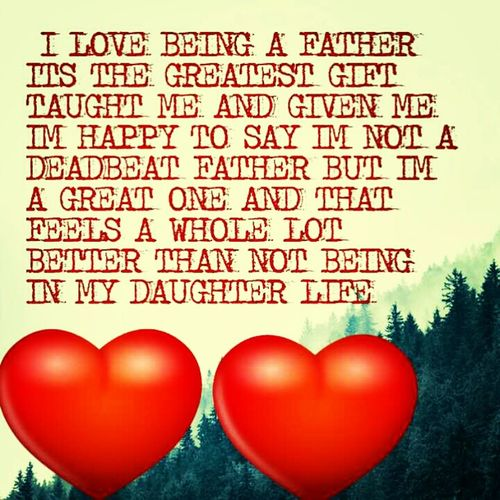 Love Being A Father
