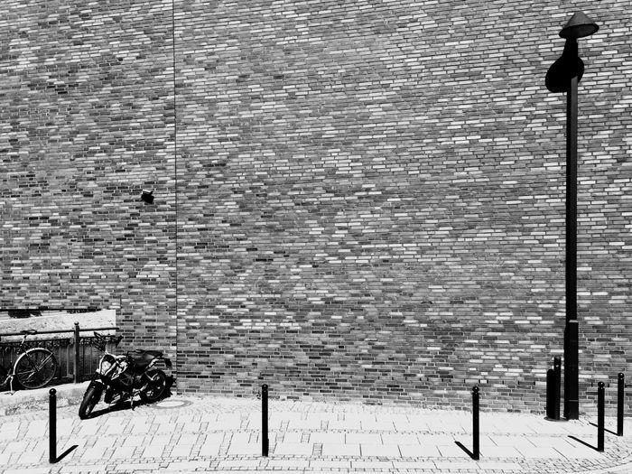 the wall. Bnwphotography Hometown Shadows & Light Bremen Bremen City Teerhof EyeEm Best Shots - Black + White