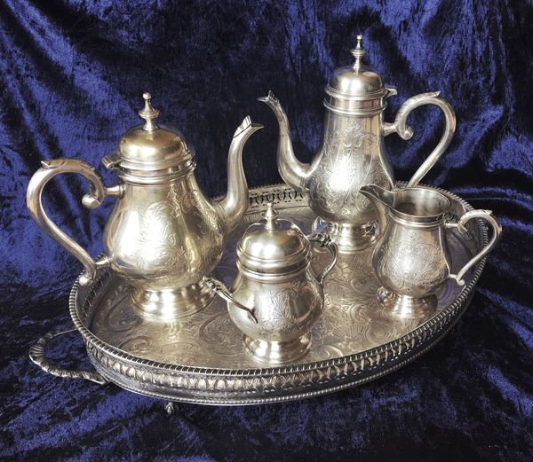 Teapot Metal Silver - Metal Indoors  No People Antique Close-up Day Art Is Everywhere The Secret Spaces Lifestyles Cultural Heritage House Relax Coffee Coffee Time Tea Time Tea Serving Tee Service Ceremony Tea Party Service Tea