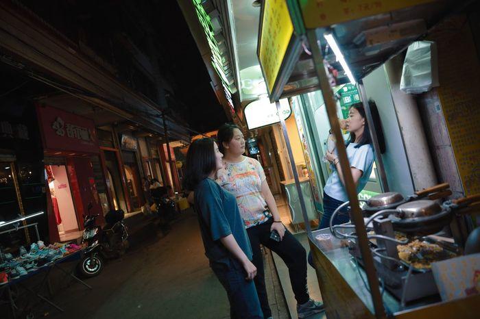 Kunming, China Km Kunming Night Night Photography Nightowl City Girl Film