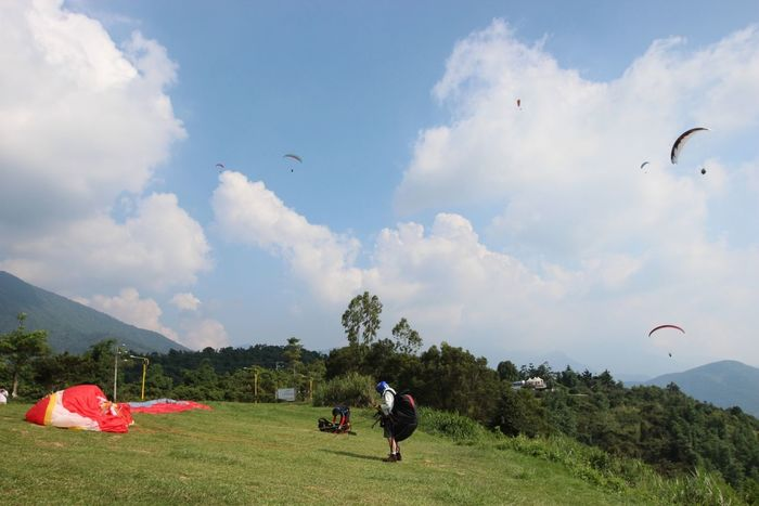 Show time. Where Do You Swarm? Paragliding Enjoying Life