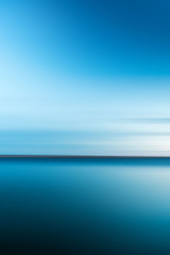 Water Sea Blue Scenics - Nature Tranquil Scene Tranquility Horizon Sky Horizon Over Water Beauty In Nature Copy Space No People Nature Day Idyllic Seascape Outdoors Backgrounds Clear Sky Swimming Pool Clean