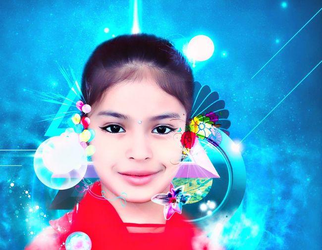 Young Girl Model Babygirl Portrait