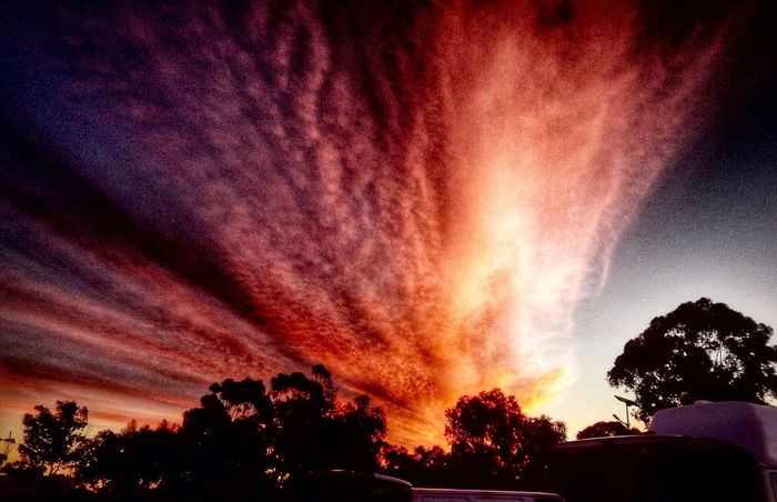 Sunset Sunset Silhouettes Amazing Camping Colours Cloudporn Beautiful Beautiful Nature Kulin WesternAustralia The Great Outdoors – 2016 EyeEm Awards On The Way