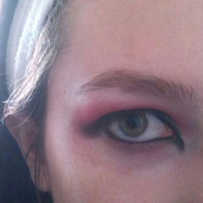 Prova Makeup Carnevale Red Black
