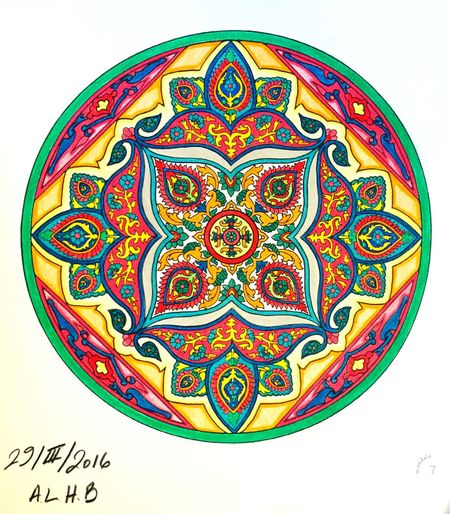 Hello World Relaxing Enjoying Life Peaceful Gratitude ❤ Happiness Coloreando Mandala Mandala Art Draw Drawing EyeEm Nature Lover