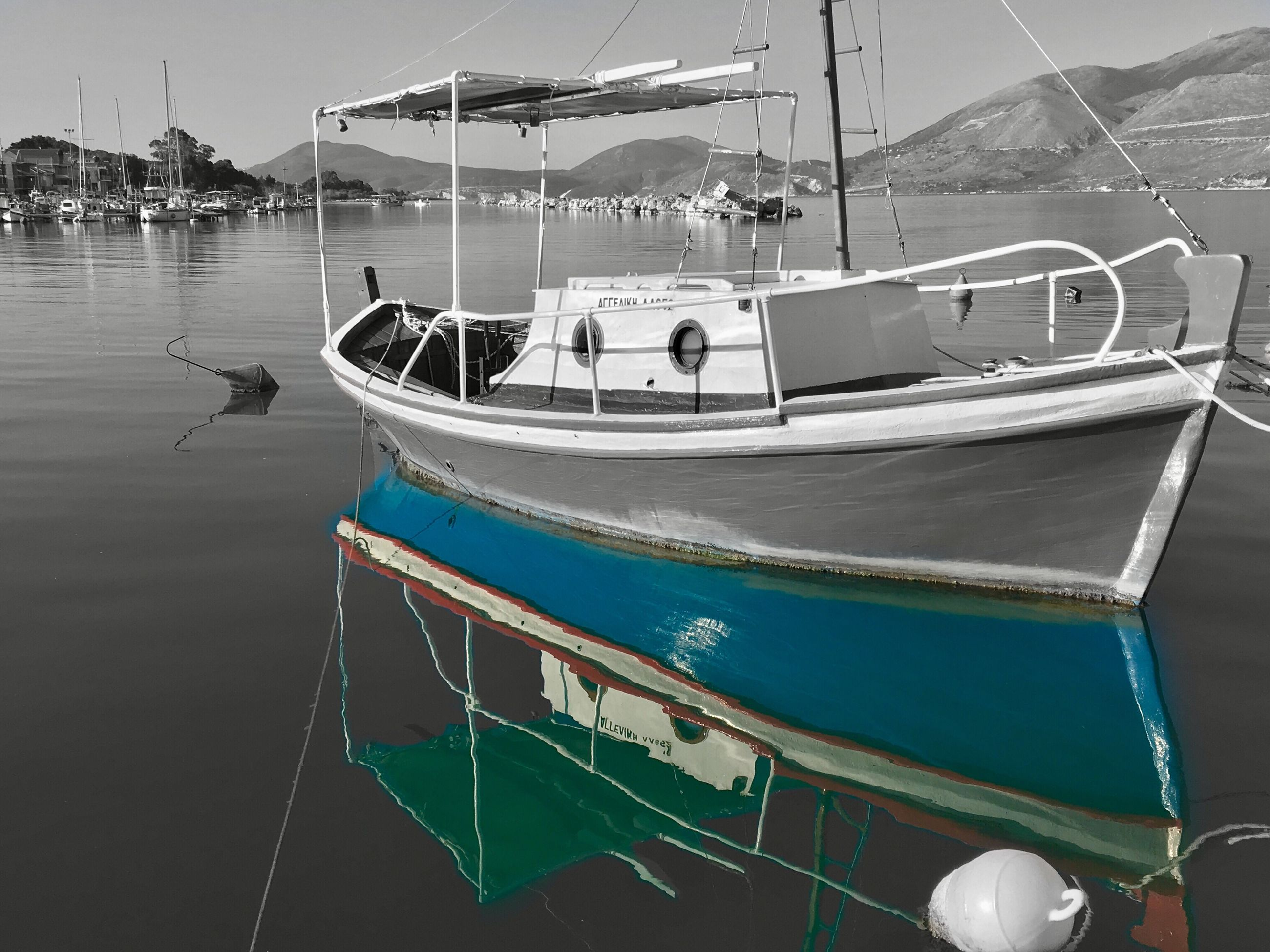 nautical vessel, transportation, water, mode of transport, moored, harbor, sea, outdoors, no people, day, yacht