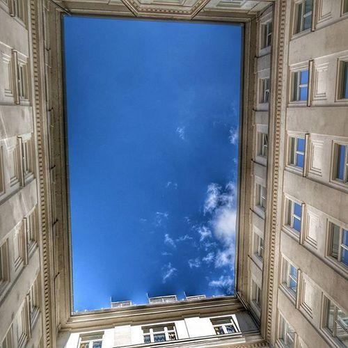 Skysquare Romantic Blue Sky Clouds And Sky Blue