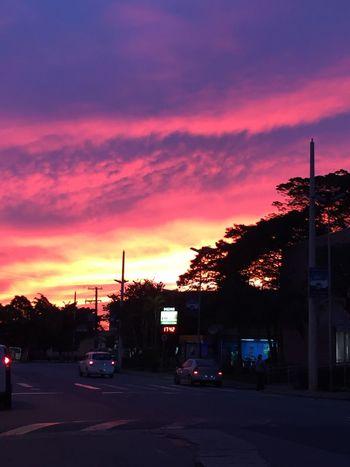são paulo, 30/06, 17:42 São Paulo Sunset Urban Landscape
