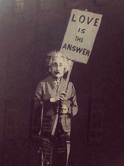 Einstien Love Love Is The Answer Inner Power