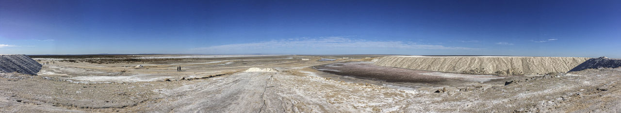 Salinas de Bebedero The Mobile Photographer - 2019 EyeEm Awards The Traveler - 2019 EyeEm Awards The Minimalist - 2019 EyeEm Awards 2019 EyeEm Awards Nature Sky Day No People Outdoors Land Landscape Panoramic Blue Environment Industry Mining Mine Cloud - Sky Mineral Environmental Issues Dirt Road Non-urban Scene Scenics - Nature