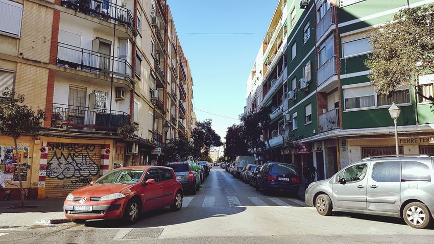 Urban Exploration Urban Photography València Car Transportation Day Land Vehicle Architecture Outdoors City