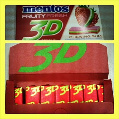 must try! Mentos3d Saturday Cool