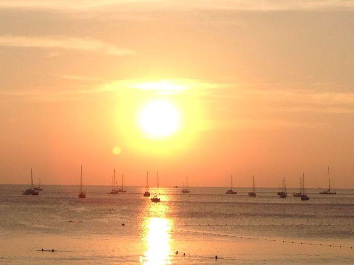 Traveling Sea Sunshine Long Holiday