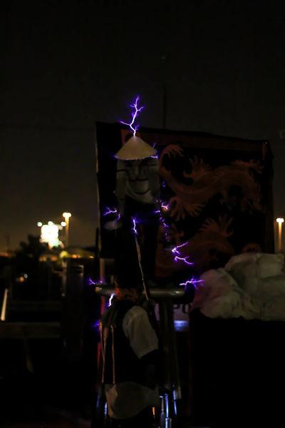 Tesla Coil Allsoulsprocession.org Dia De Los Muertos Streetphotography Tucson City Of Tucson