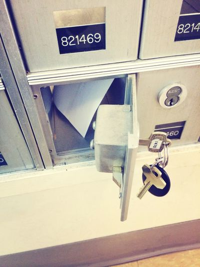 Postoffice Keys Picking Up A Package Books ♥