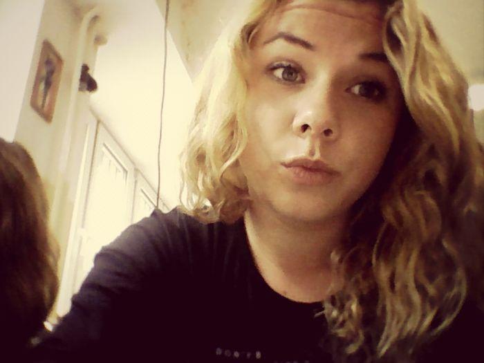Blond, Hair Style, blue eyes ,school , bored, selfie, girls Relaxing Hello World