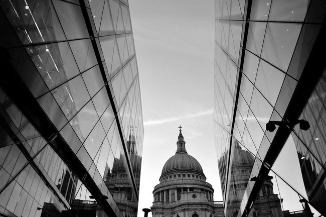StPaulscathedral City Architecture Outdoors Religion London Love Black And White