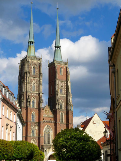 Architecture Architecture Building Exterior Built Structure Church Towers Cloud - Sky Day Landmarkbuildings Low Angle View No People Outdoors Place Of Worship Places To Visit Tall - High