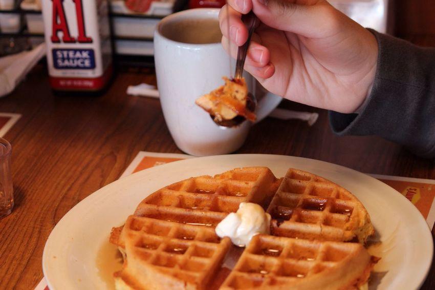 Enjoying A Meal Food Porn Breakfast Enjoying Life