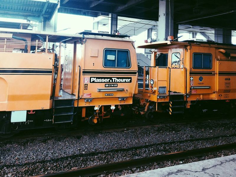 VSCO Maintenance Train Locomotive No People INDONESIA