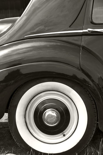 Vintage Car Ancient Antique Antique Car Autocar Automobile Back Behind Black & White Black And White Blackandwhite Bw Bw_collection Car Detail Limousine Motorcar No People Old Oldtimer Outdoors Rear Tire Vehicle Vintage Vintage Cars