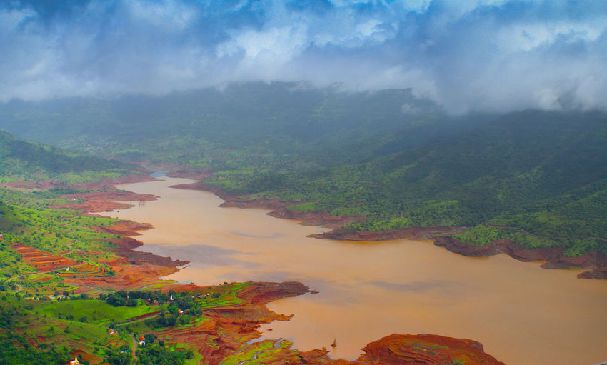 River and Nature Day Out Green Color India Nature Nature Photography Travel Travel Photography Beauty In Nature Beauty In Nature Canon Canonphotography Landscape Mountain Nature Nature_collection No People Outdoors Photography River Scenics Shweta Tranquil Scene Tranquility Tree Water