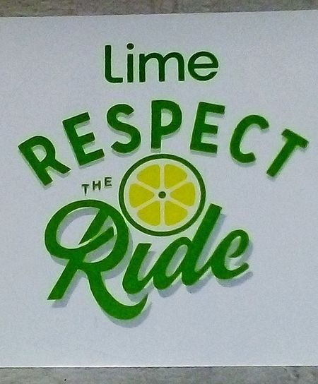 ElectricScooters🛴 Electric Scooter #LimeNation Sticker Trademark™ Sign Logo Respect RespectTheRide Text Western Script Signs Trademark™ Scooters Electric Scooter Illuminated Signs Commercial Signs SIGN. Signs & More Signs Signs, Signs, & More Signs LimeScooters Lime-S Lime Scooters 🛴 Taking Photos Adelaide, South Australia No People Respect The Ride Lime Signboard Information