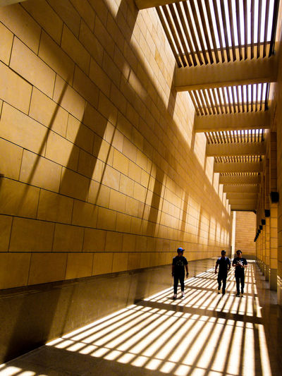 play of light and shadows Architecture Day EyeEm Best Shots Eyeem Philippines Hallway Light And Shadow Museum National Museum National Museum Of Riyadh People Philippines Riyadh Riyadh KSA Shades And Shadows Sunlight Walking Connected By Travel Visual Creativity The Architect - 2018 EyeEm Awards