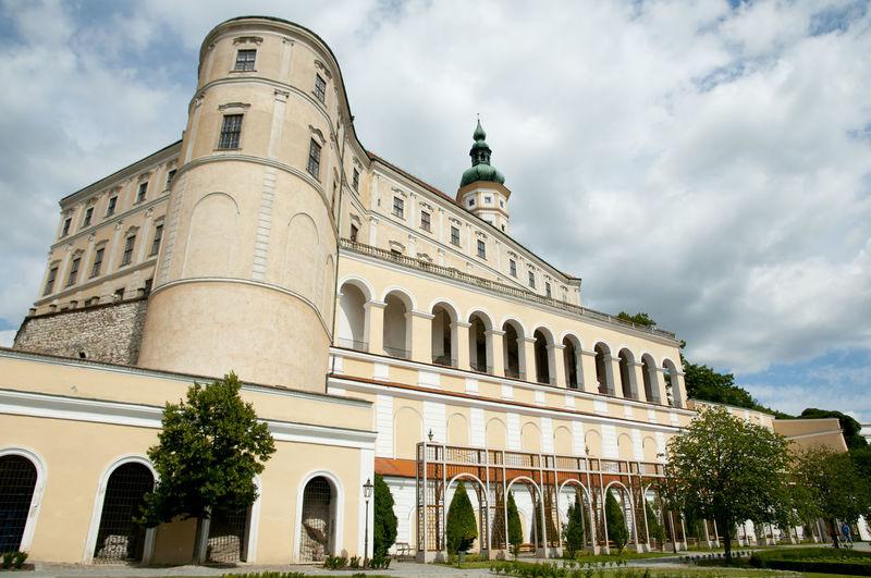 Mikulov Castle Castle Czech Republic Czechia Mikulov Palace