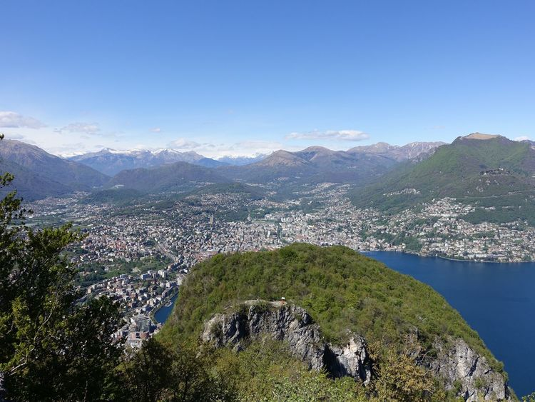 Beauty In Nature Hill Idyllic Lake Lake View Landscape Majestic Mountain Mountain Range Nature Plant Remote Sky Sky And Clouds Tranquil Scene Tranquility Tree Water City of Lugano, Switzerland San Salvatore Lake Lugano Lago Di Lugano  City View  The Great Outdoors With Adobe